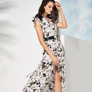 HAPPY X NATURE SHORELINE WRAP DRESS